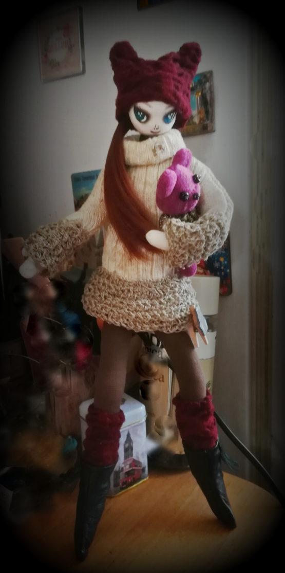 """текстильная кукла """"Нами"""""""