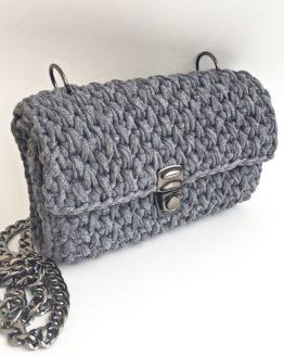 сумка вязаная
